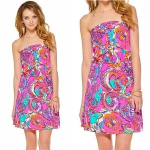 Lilly Pulitzer Atwood Strapless Dress